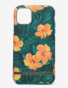 Orange Hibiscus iPhone 11 - puhelimen kuoret - orange hibiscus