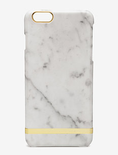 White Marble Glossy - handy accessoires - white marble
