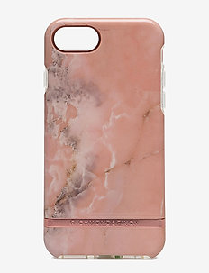 Pink Marble - telefon accessories - pink