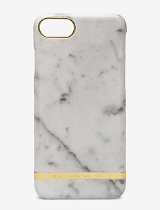 White Marble Glossy Iphone 7 - WHITE MARBLE
