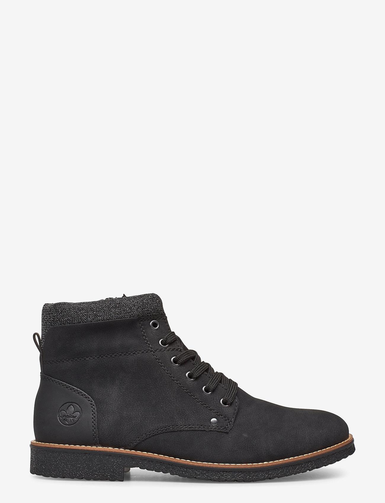 Rieker - 33640-01 - buty zimowe - black - 1