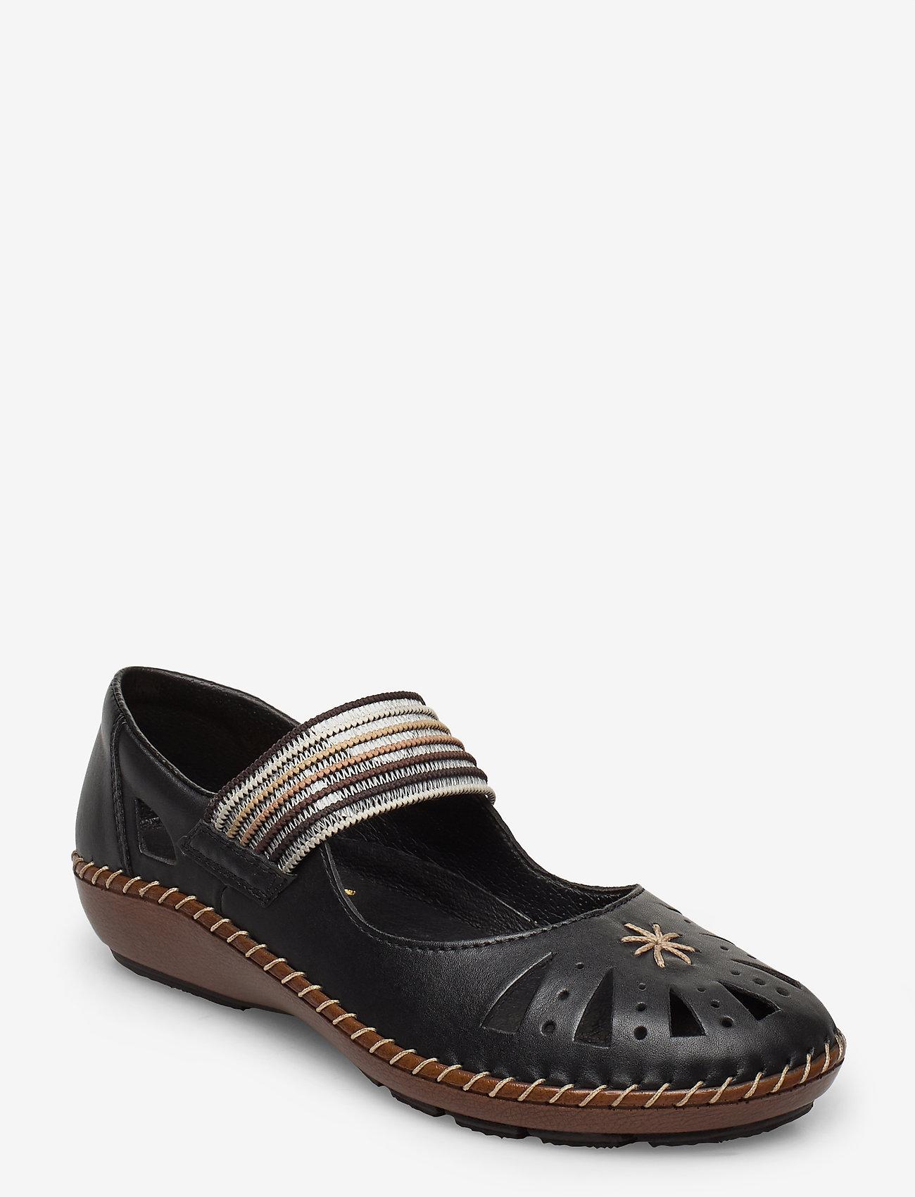 Rieker - 44865-00 - ballerinas - black