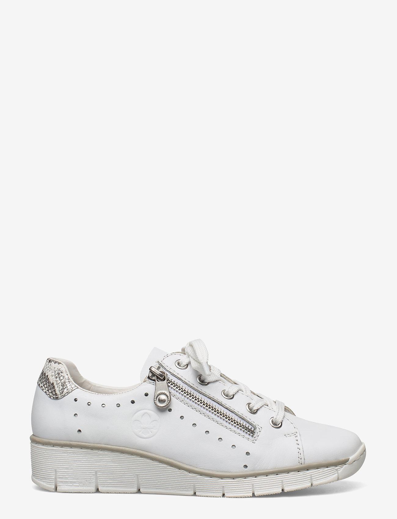 Rieker - 53701-80 - low top sneakers - weiss