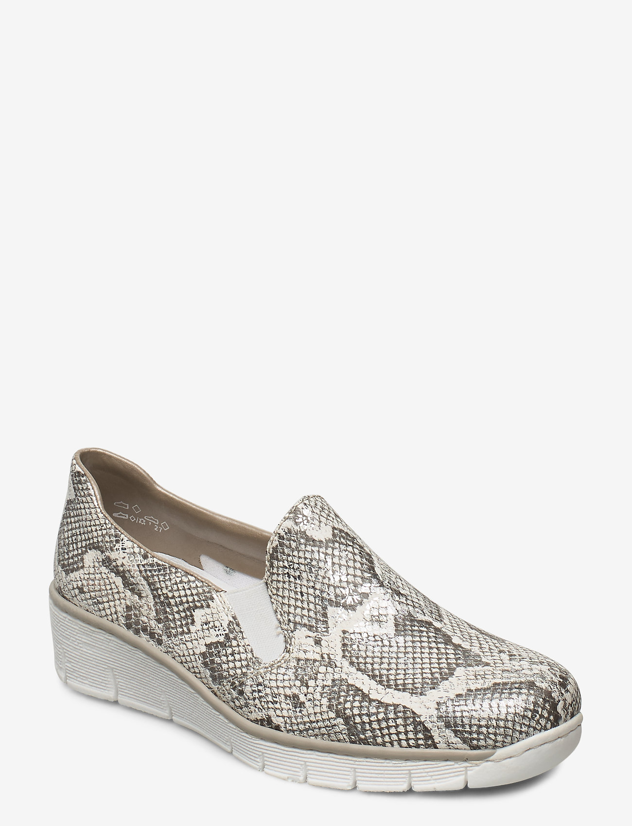 Rieker - 53766-40 - loafers - white combination