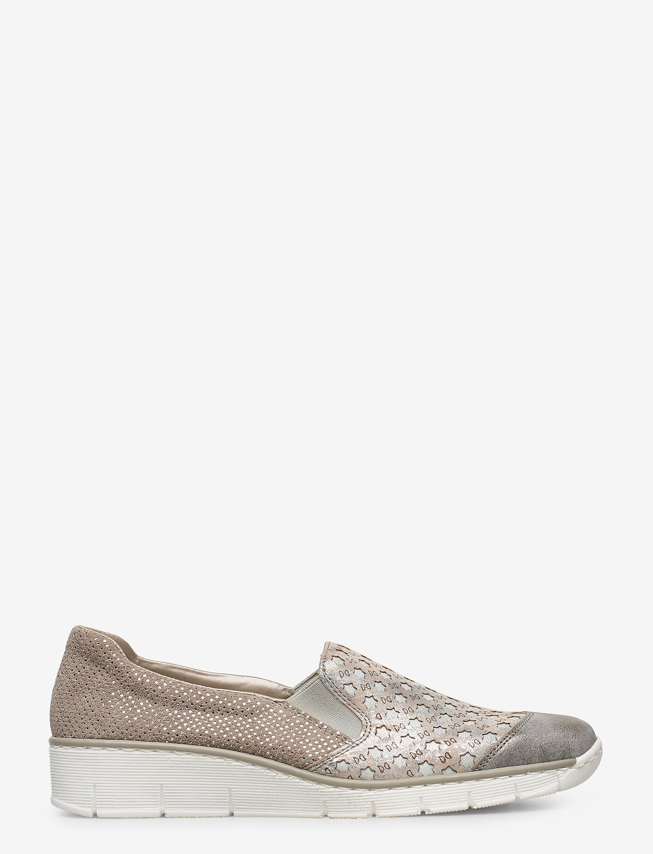 Rieker - 537W4-40 - slip-on sneakers - grey combination