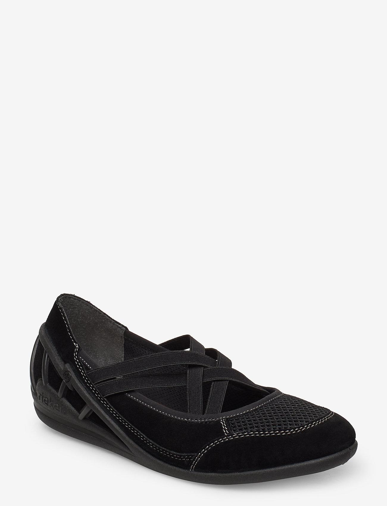 Rieker - 59585-00 - ballerinas - black