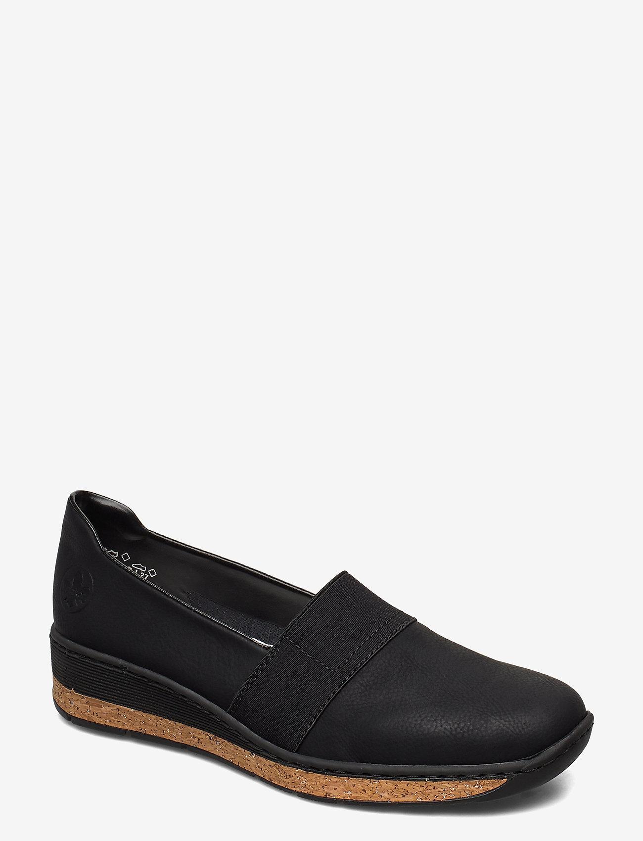 Rieker - 59781-00 - ballerinas - black - 0