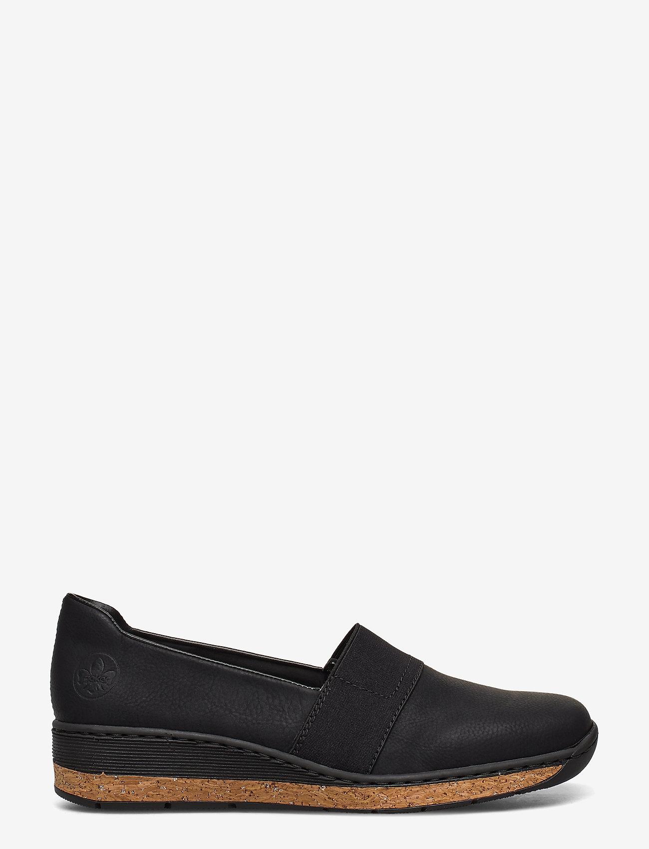 Rieker - 59781-00 - ballerinas - black - 1