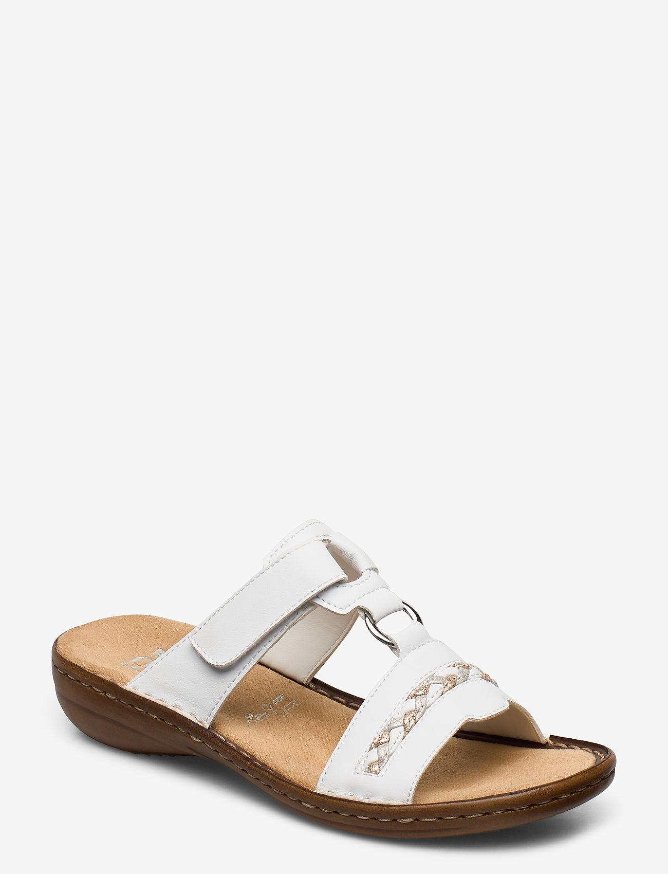 Rieker - 60888-00 - flat sandals - weiss