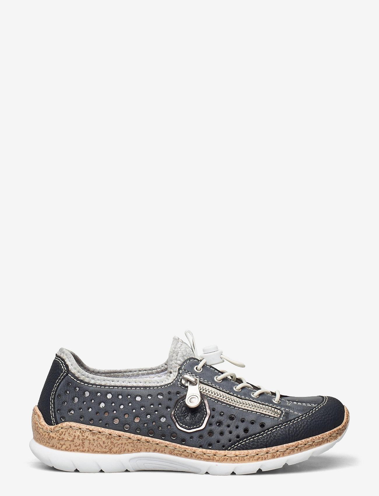 Rieker - N42P6-14 - niedrige sneakers - blue - 1