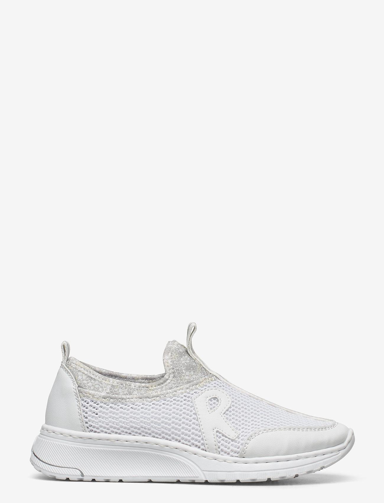 Rieker - N5054-80 - slip-on sneakers - weiss