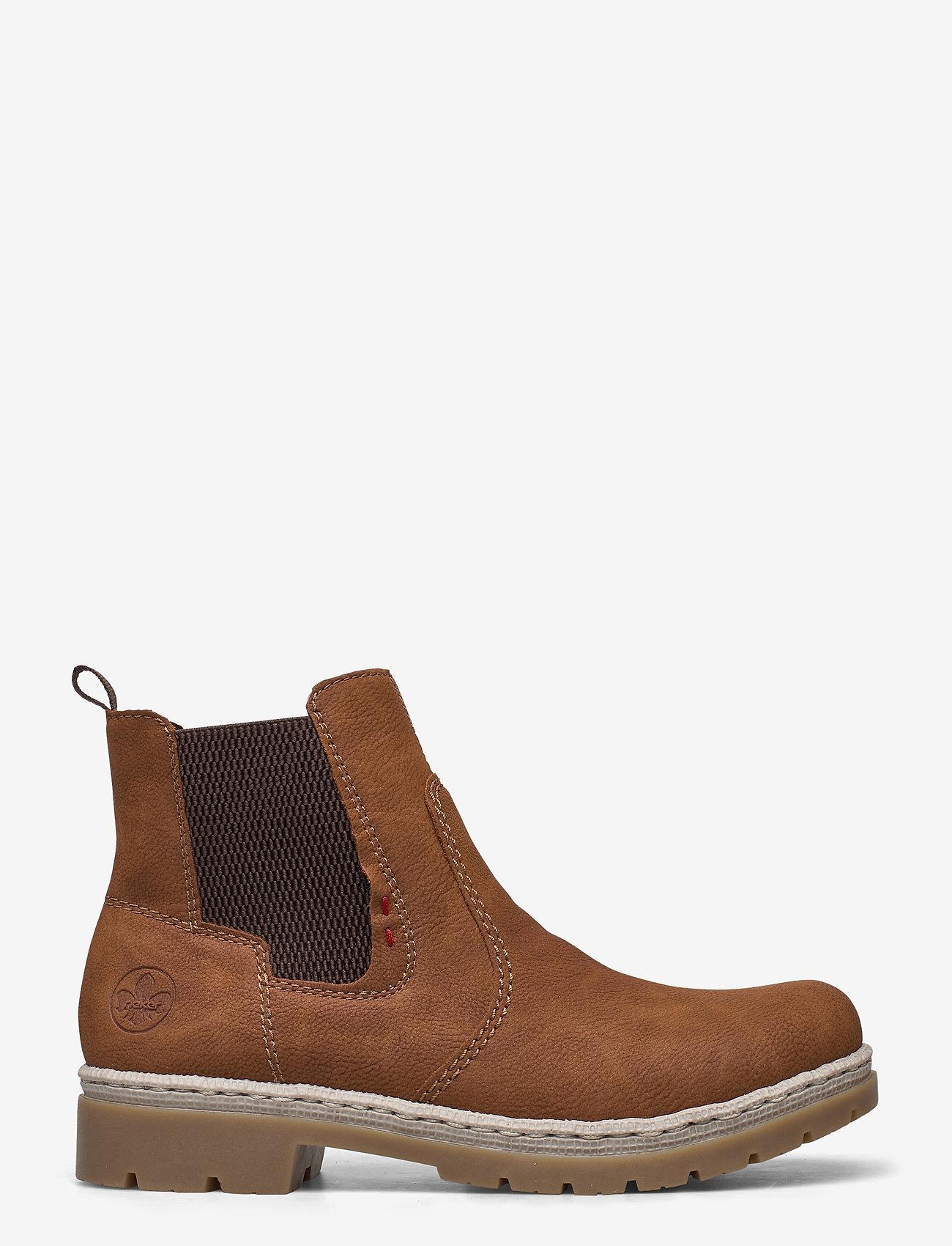 Rieker - Y9454-22 - niski obcas - brown - 1