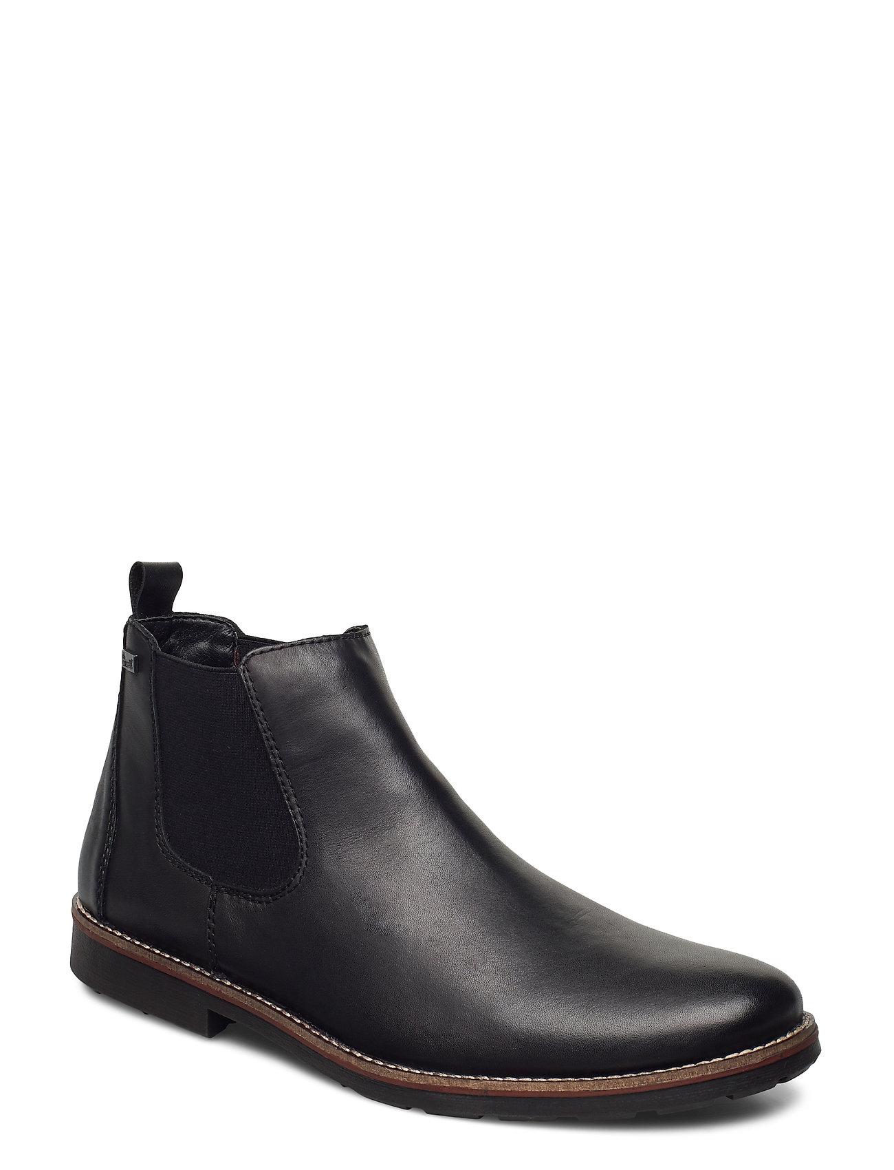 35382-00 Støvlet Chelsea Boot Sort Rieker