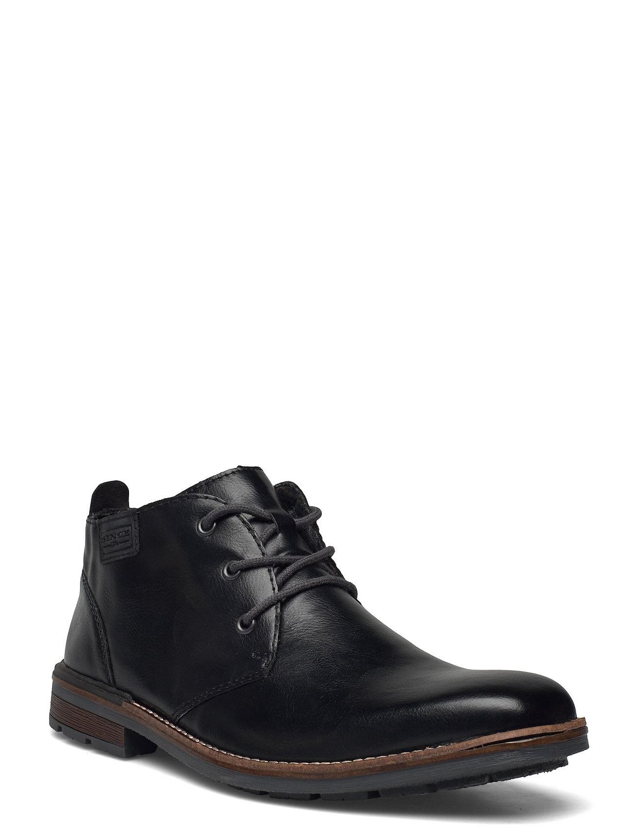 B1340-00 Shoes Business Laced Shoes Sort Rieker