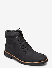 Rieker - 33640-01 - buty zimowe - black - 0
