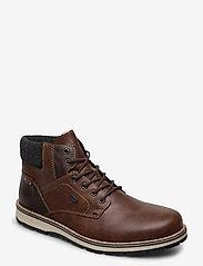Rieker - 38434-26 - veter schoenen - brown - 0