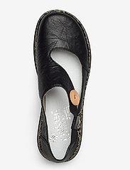 Rieker - 46364-00 - ballerinas - black - 3