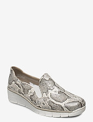 Rieker - 53766-40 - loafers - white combination - 0