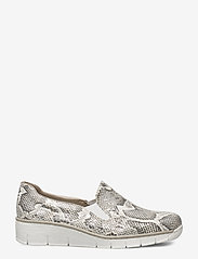 Rieker - 53766-40 - loafers - white combination - 1
