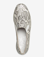 Rieker - 53766-40 - loafers - white combination - 3