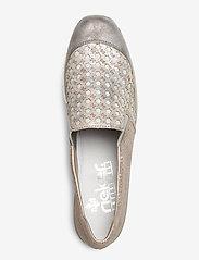 Rieker - 537W4-40 - slip-on sneakers - grey combination - 3