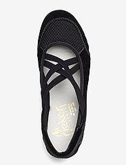 Rieker - 59585-00 - ballerinas - black - 3