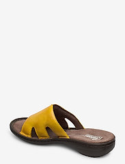 Rieker - 60824-00 - flat sandals - yellow - 2