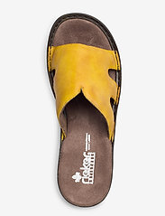 Rieker - 60824-00 - flat sandals - yellow - 3