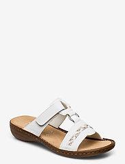 Rieker - 60888-00 - flat sandals - weiss - 0