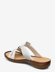 Rieker - 60888-00 - flat sandals - weiss - 2