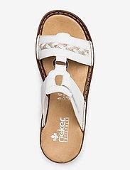 Rieker - 60888-00 - flat sandals - weiss - 3