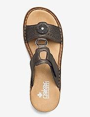 Rieker - 608K1-45 - flat sandals - grey - 3
