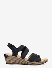 Rieker - 62412-15 - heeled espadrilles - blue - 1