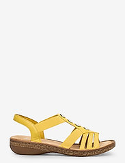 Rieker - 62831-00 - flat sandals - yellow - 1