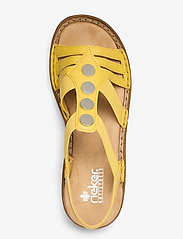 Rieker - 62831-00 - flat sandals - yellow - 3