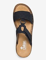 Rieker - 62885-14 - flat sandals - blue - 3