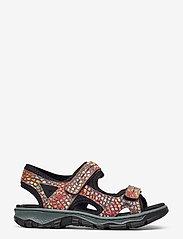 Rieker - 68866-90 - flat sandals - multi - 1