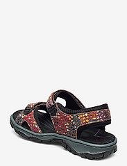 Rieker - 68866-90 - flat sandals - multi - 2