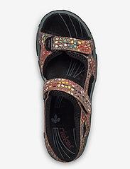 Rieker - 68866-90 - flat sandals - multi - 3