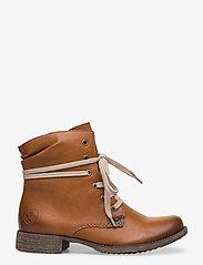 Rieker - 70829-24 - wysoki obcas - brown - 1