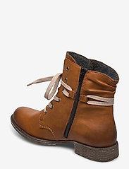 Rieker - 70829-24 - wysoki obcas - brown - 2