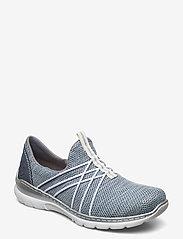 Rieker - L32K1-12 - slip-on sneakers - blue - 0