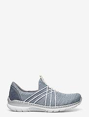 Rieker - L32K1-12 - slip-on sneakers - blue - 1