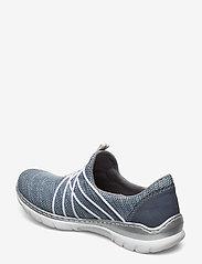 Rieker - L32K1-12 - slip-on sneakers - blue - 2