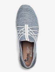 Rieker - L32K1-12 - slip-on sneakers - blue - 3