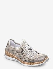 Rieker - N42K6-40 - low top sneakers - grey combination - 0