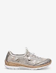 Rieker - N42K6-40 - low top sneakers - grey combination - 1