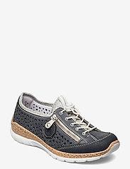 Rieker - N42P6-14 - niedrige sneakers - blue - 0