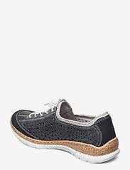 Rieker - N42P6-14 - niedrige sneakers - blue - 2