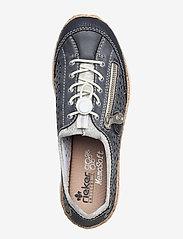 Rieker - N42P6-14 - niedrige sneakers - blue - 3